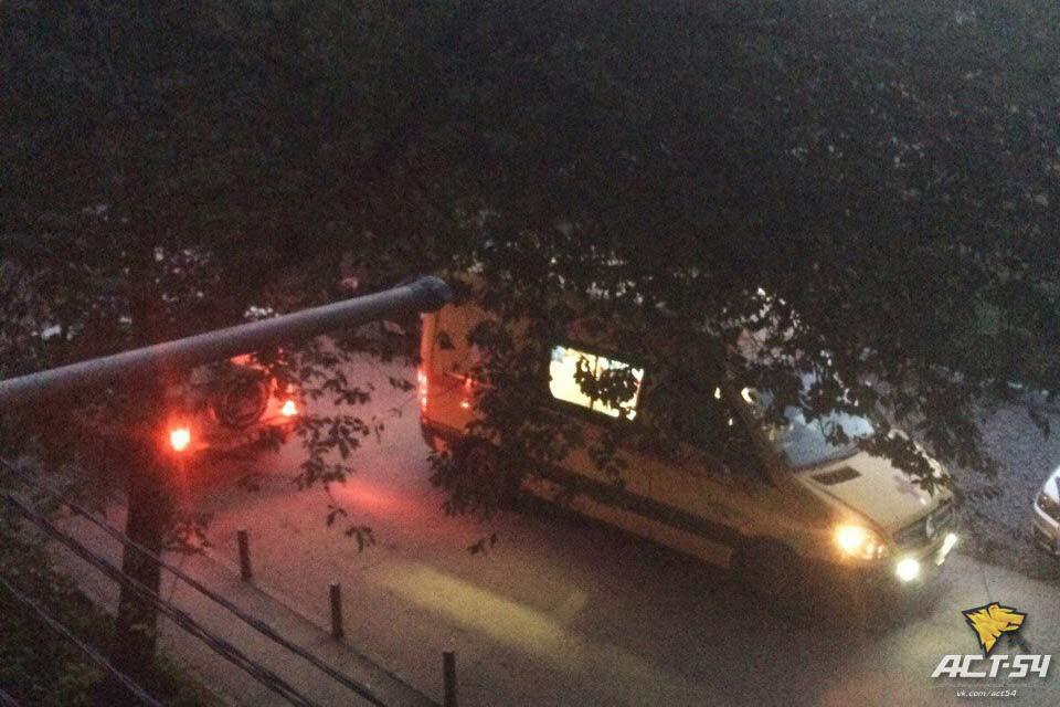 Ребенок выжил после падения сбалкона 3-го этажа вНовосибирске