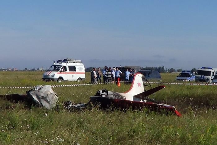 Закрушение самолета ответил прежний глава аэроклуба