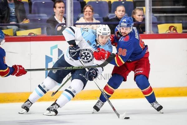 «Сибирь» выиграла впятом матче кряду, одолев вгостях «Йокерит»