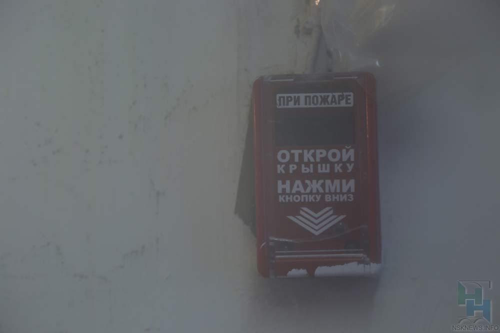 Втуберкулезной клинике Новосибирска произошел пожар