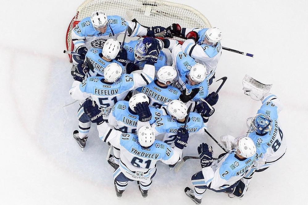 «Сибирь» всамом конце игры прошляпила победу над «Спартаком»— Хоккей