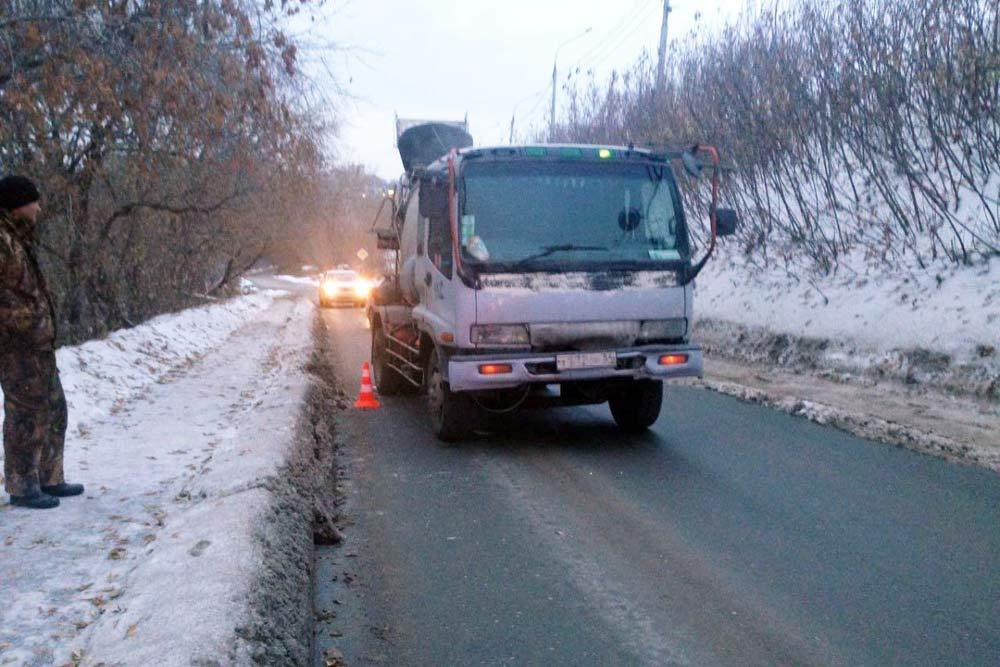 ВНовосибирске под бетономешалку попал местный гражданин