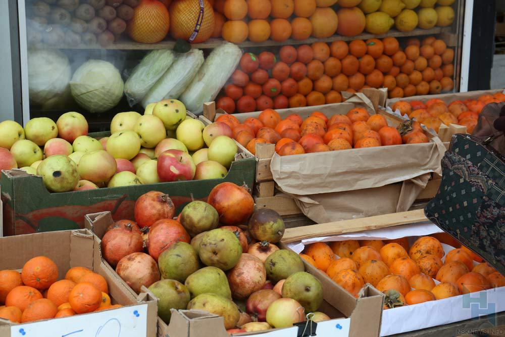 Китайские мандарины и иные продукты непустили вНовосибирск