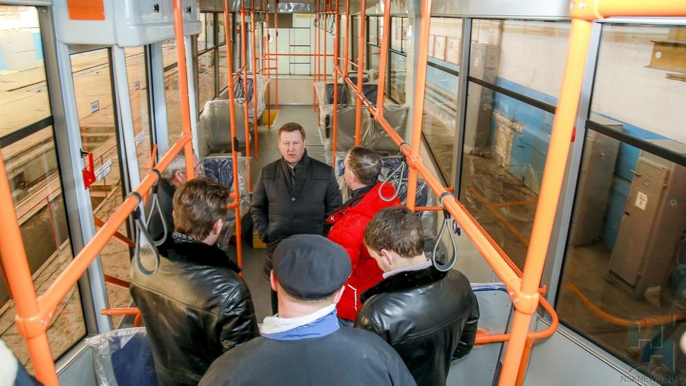 1-ый «белорусский» трамвай выйдет намаршрут вНовосибирске клету