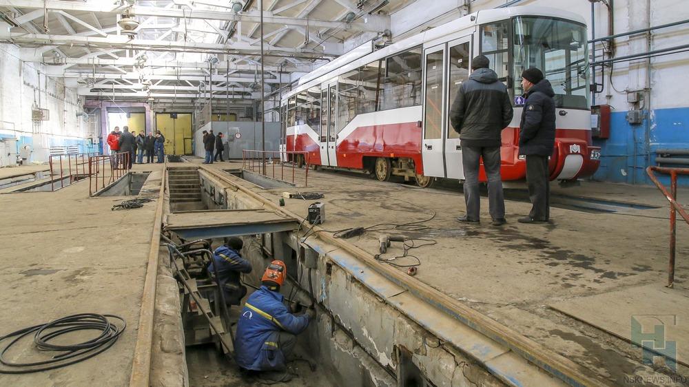 1-ый новосибирско-белорусский трамвай будет готов клету 17-го