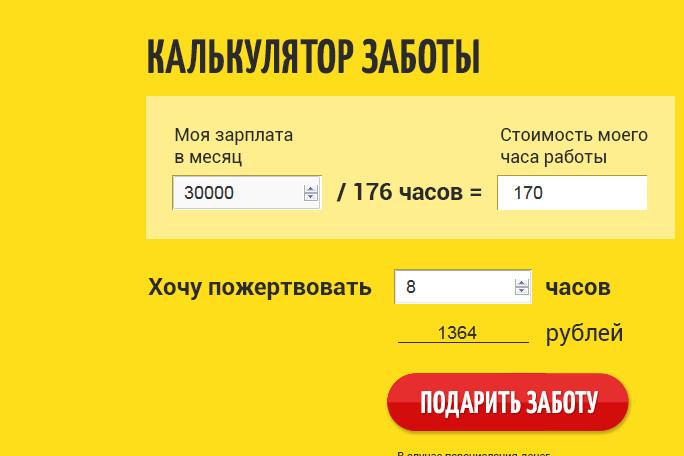 Новосибирский благотворительный фонд организовал акцию «День заботы задень работы»