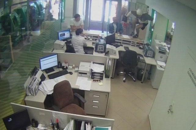 Арестован преступник, ограбивший Сбербанк России в Новосибирске