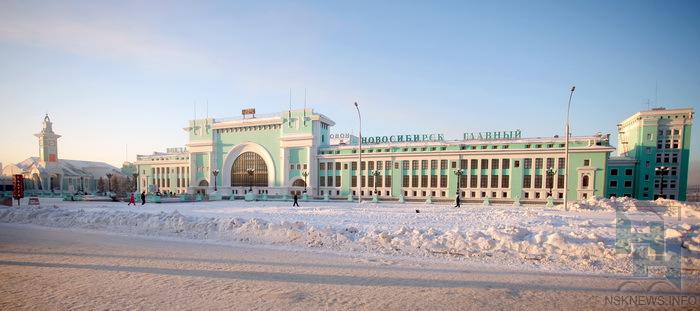зимний вокзал новосибирск главный фото моделями среди