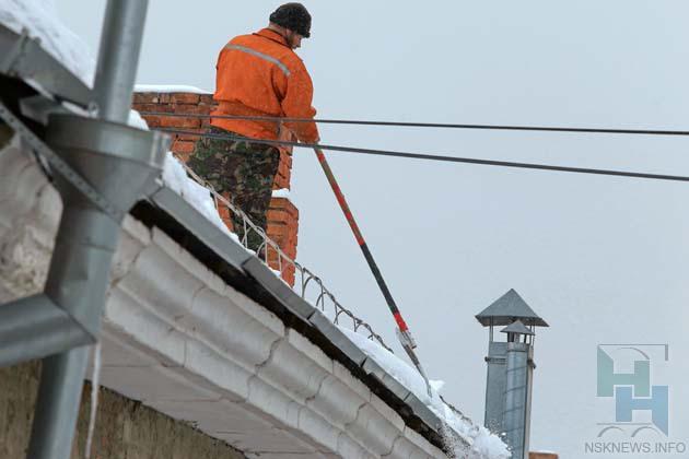 Услуга по очистке крыш от снега