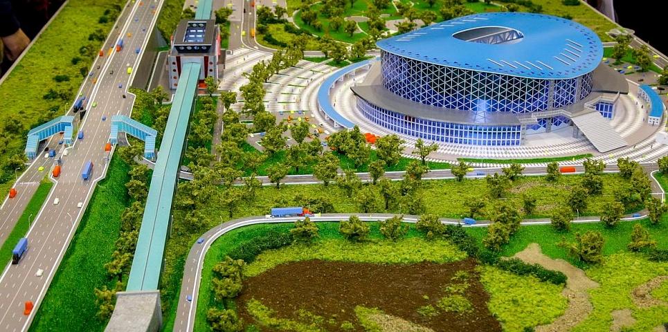 Месяц строительства станции «Спортивной» и ЛДС показали в минутном видео